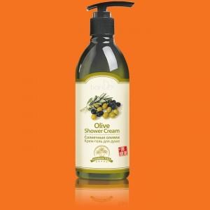 Krémový sprchový gél Slnečné olivy