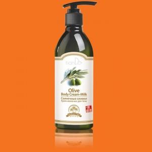 Krémové telové mlieko Slnečné olivy