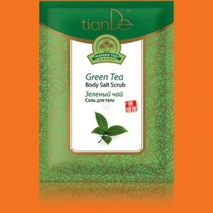 Telová soľ Zelený čaj
