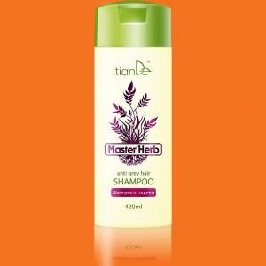 Šampón obmezujúcí šedivenie vlasov