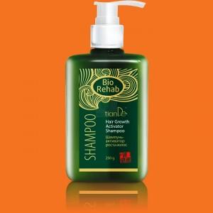 Šampón - aktivátor rastu vlasov