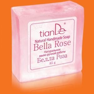 """Prírodné ručne robené mydlo """"Bella Rosa"""""""