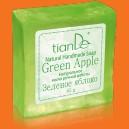 """Prírodné ručne robené mydlo """"Zelené jablko"""""""