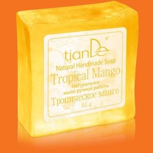 """Prírodné ručne robené mydlo """"Tropické mango"""""""