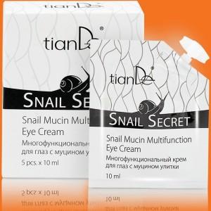 Viacfunkčný krém na oči s mucínom slimáka 5x10 ml
