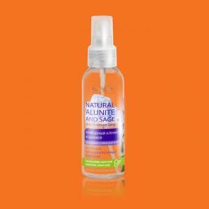"""Prírodný telový deodorant v spreji """"Alunit a šalvia"""""""